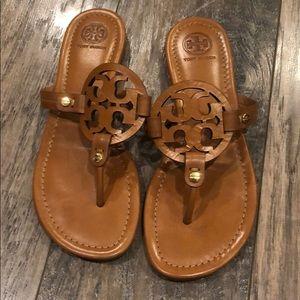 Tory Burch Miller Flip Flop Size 7 M - Brown